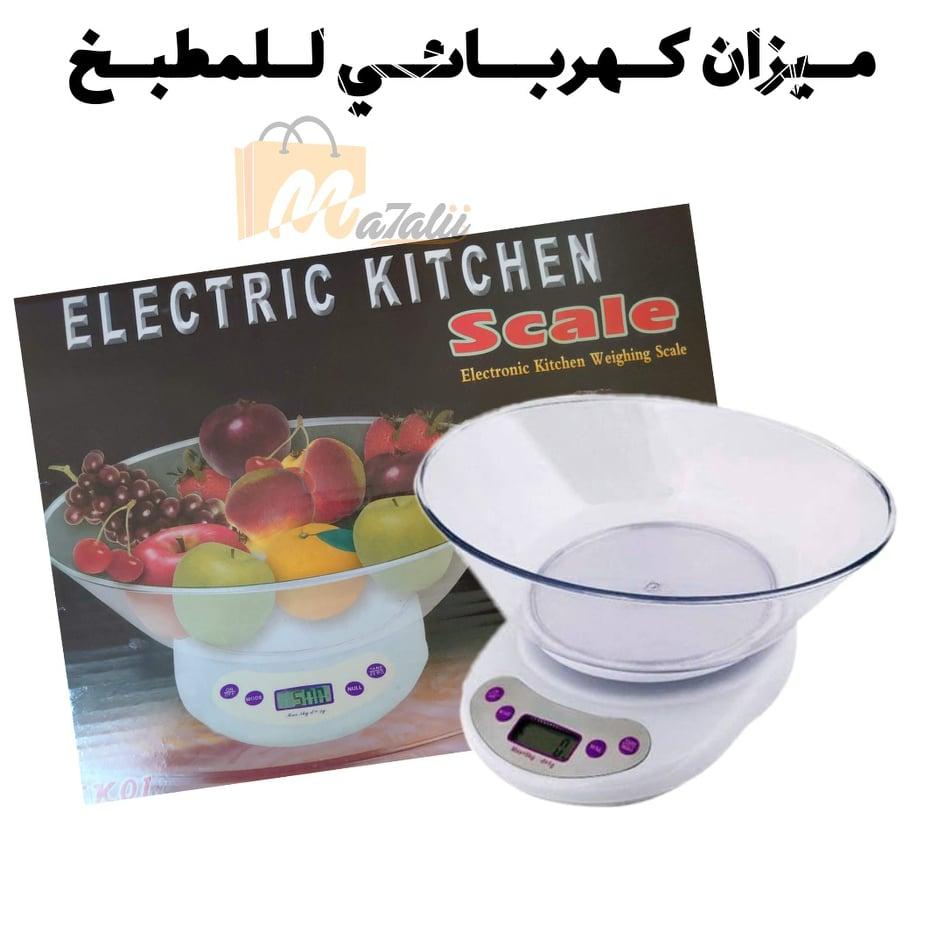 ميزان مطبخ كهربائي