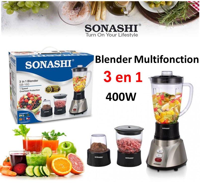 Sonashi Robot Blender Multifonction 3en1