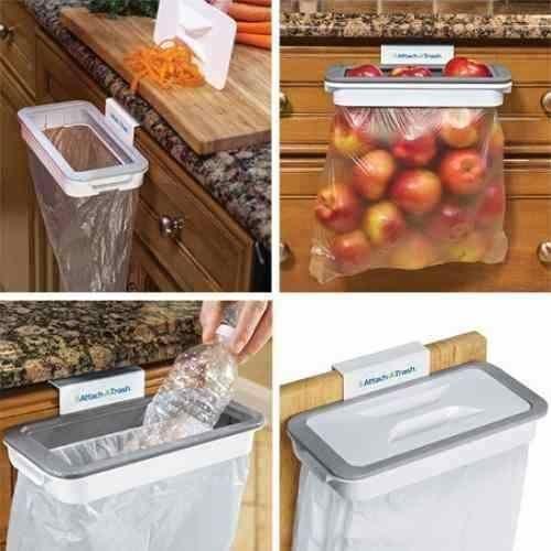 حامل القمامة البلاستكي Attach-A-Trash