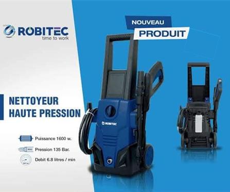 جهاز التنظيف بالضغط العالي من  Robitec , 135 bar 1600W