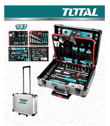Valise à outils 147 pcs total