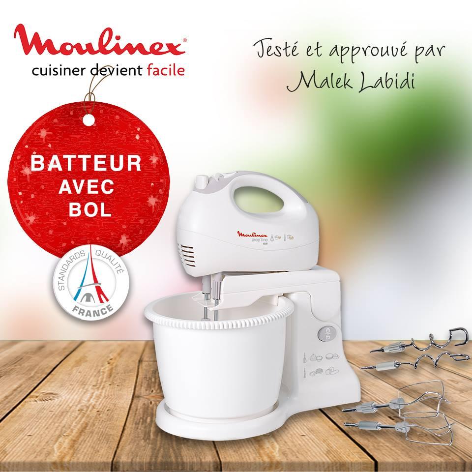 Moulinex ~ Mixeur/Batteur 2en1