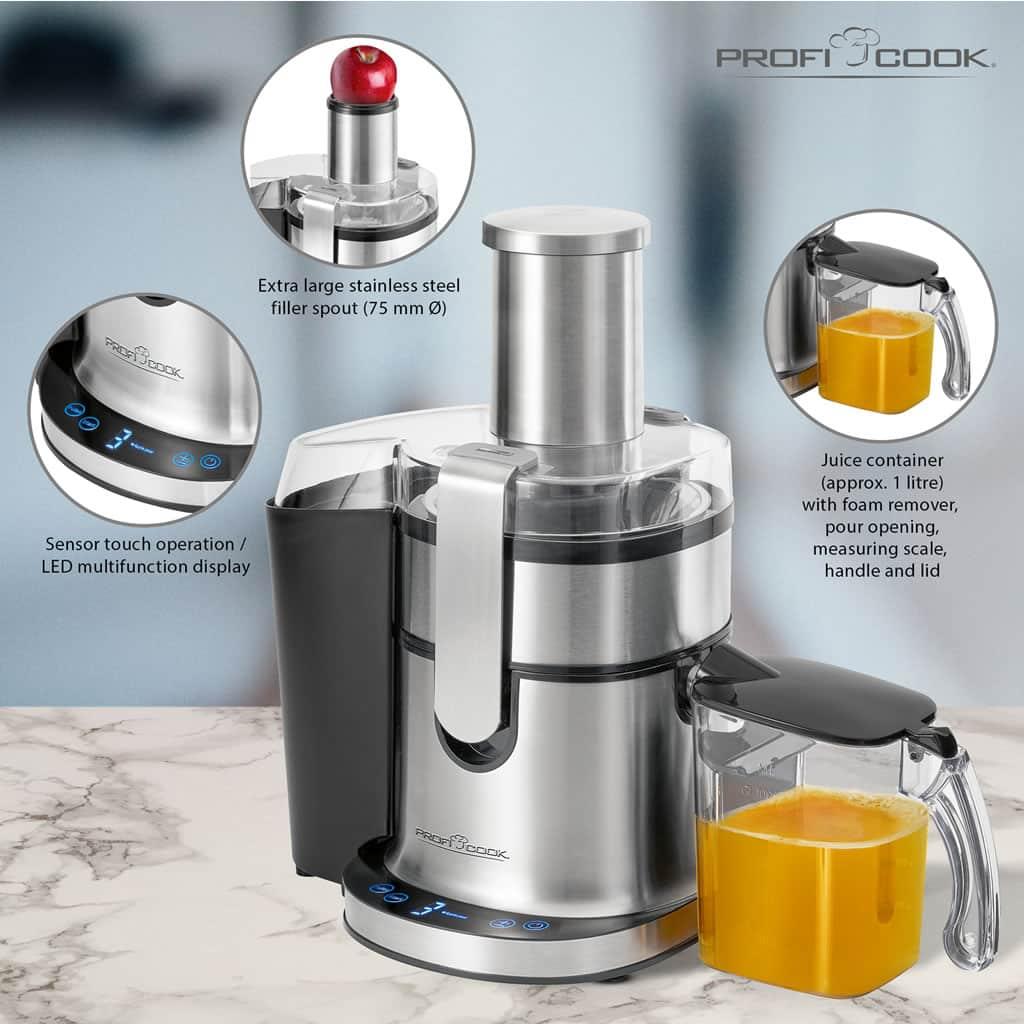 Presse-fruits automatique PROFI COOK