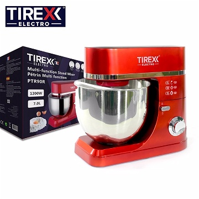 Tirexx Electro Pétrin Multi fonction PTR90R