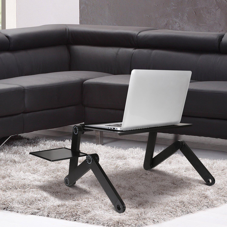 TABLE PC NOIR T8 360°