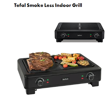 Tefal Smoke Less Indoor Grill