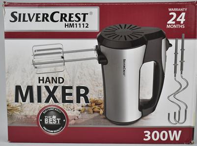 Hand Mixer SilverCrest 300W