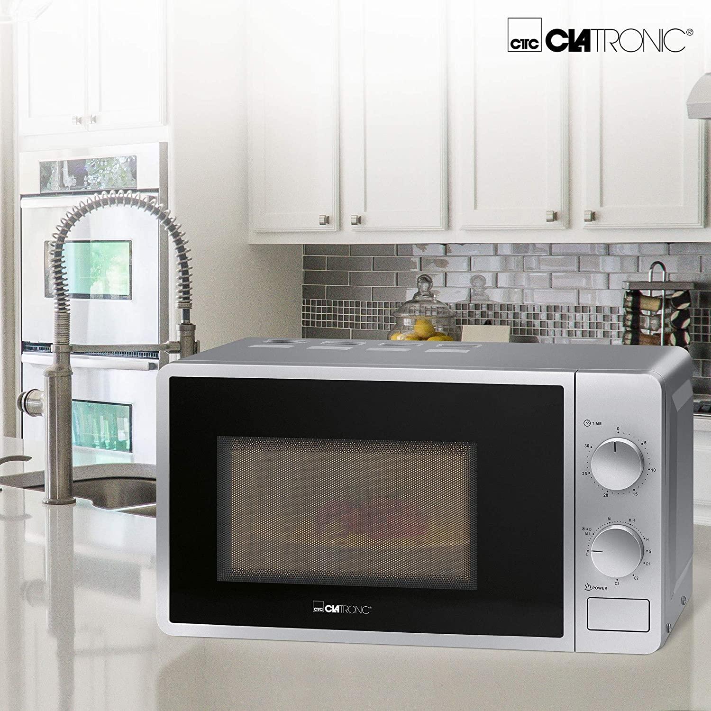 Clatronic Micro Ondes Avec Grill 2En 1- 700 W - 20 L