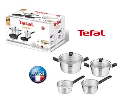 TEFAL Serie de cuisine Simpleo 6 pièces