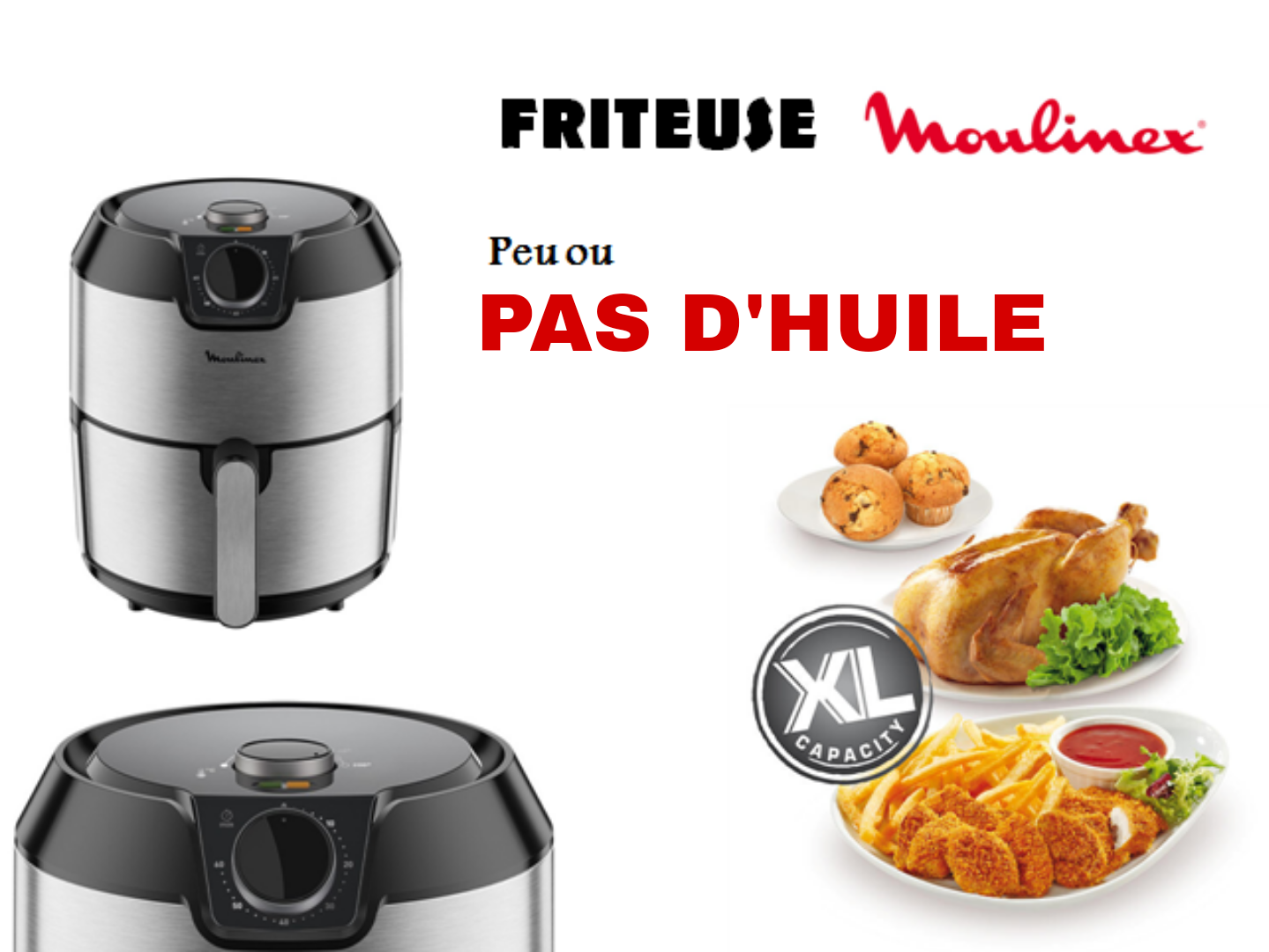 Friteuse Moulinex 4.2L
