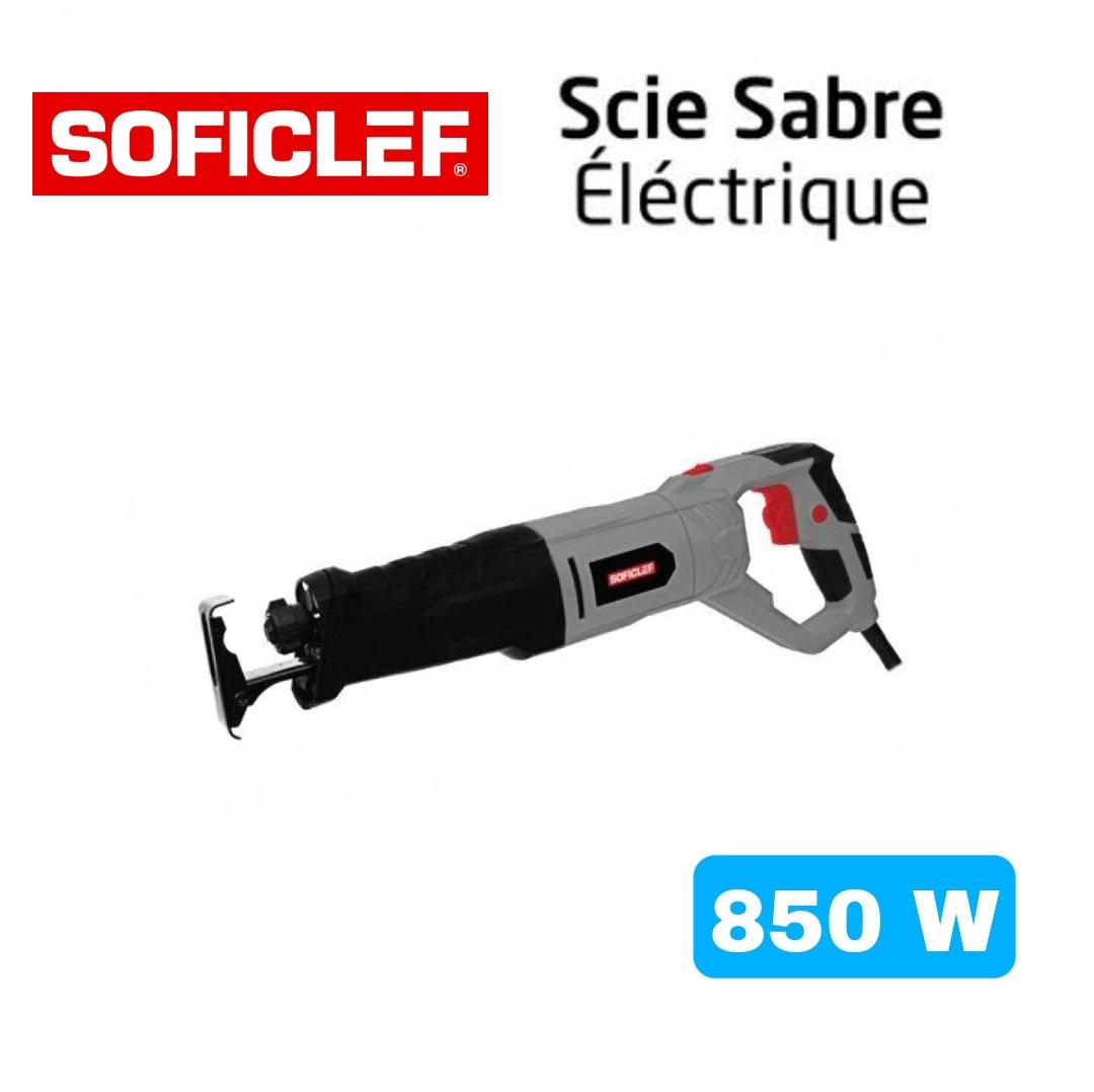 Scie Sabre Éléctrique SOFICLEF 850W