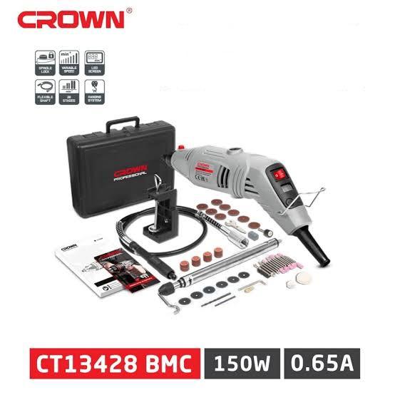Mini Meuleuse 150W Crown