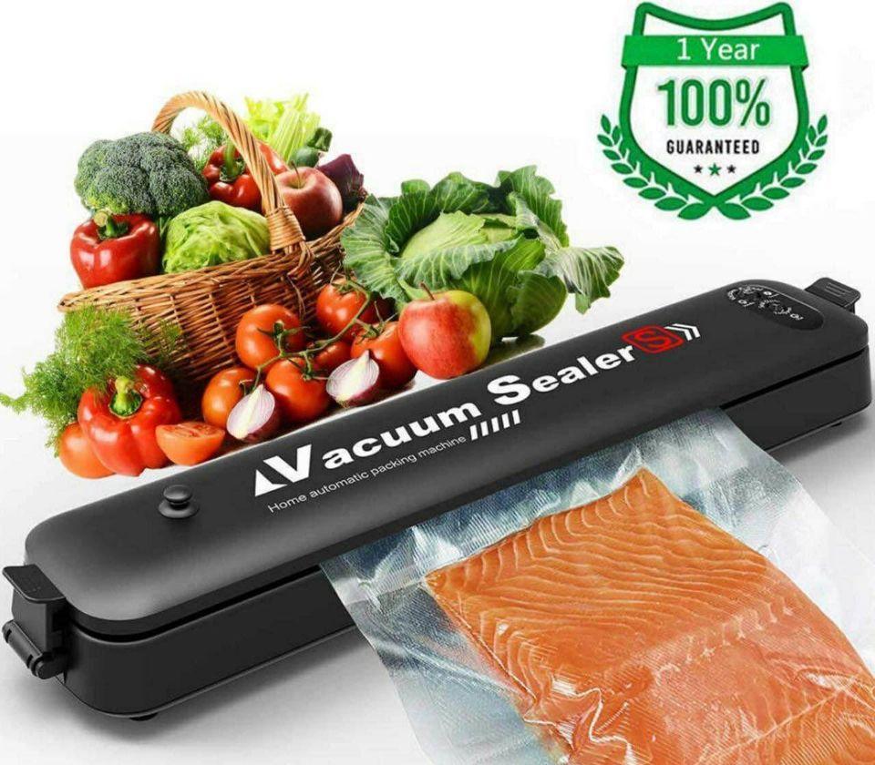 VACUUM sealer, Machine de scellage sous vide pour aliments ménagers et fruits