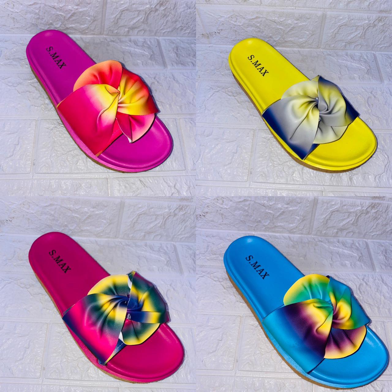 Sandale en couleur