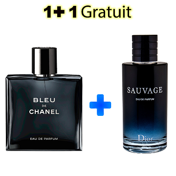 PARFUM SAUVAGE  +  BLEU DE CHANEL  100% Authentique