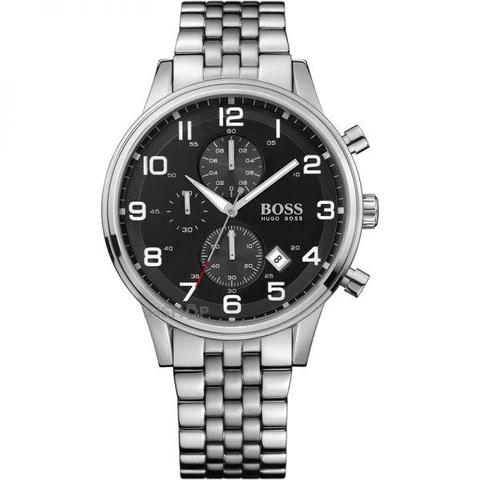 silver hugo boss watches