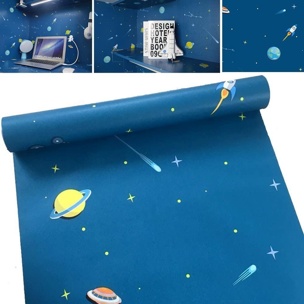 papier peint adhesif 10 ou 5 metr sur 45 cm autocollant pour chambres d'enfants