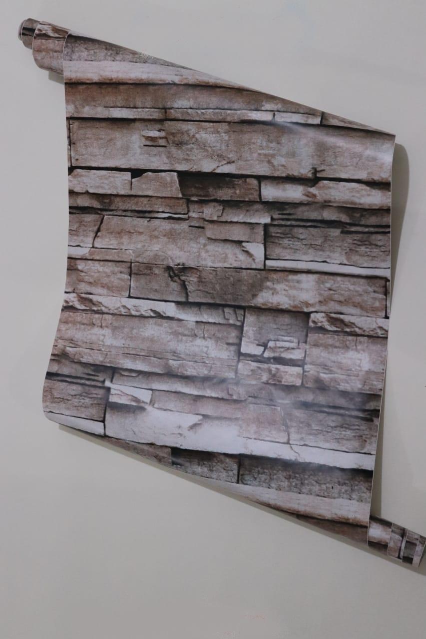 papier peint adhésif 3d brique
