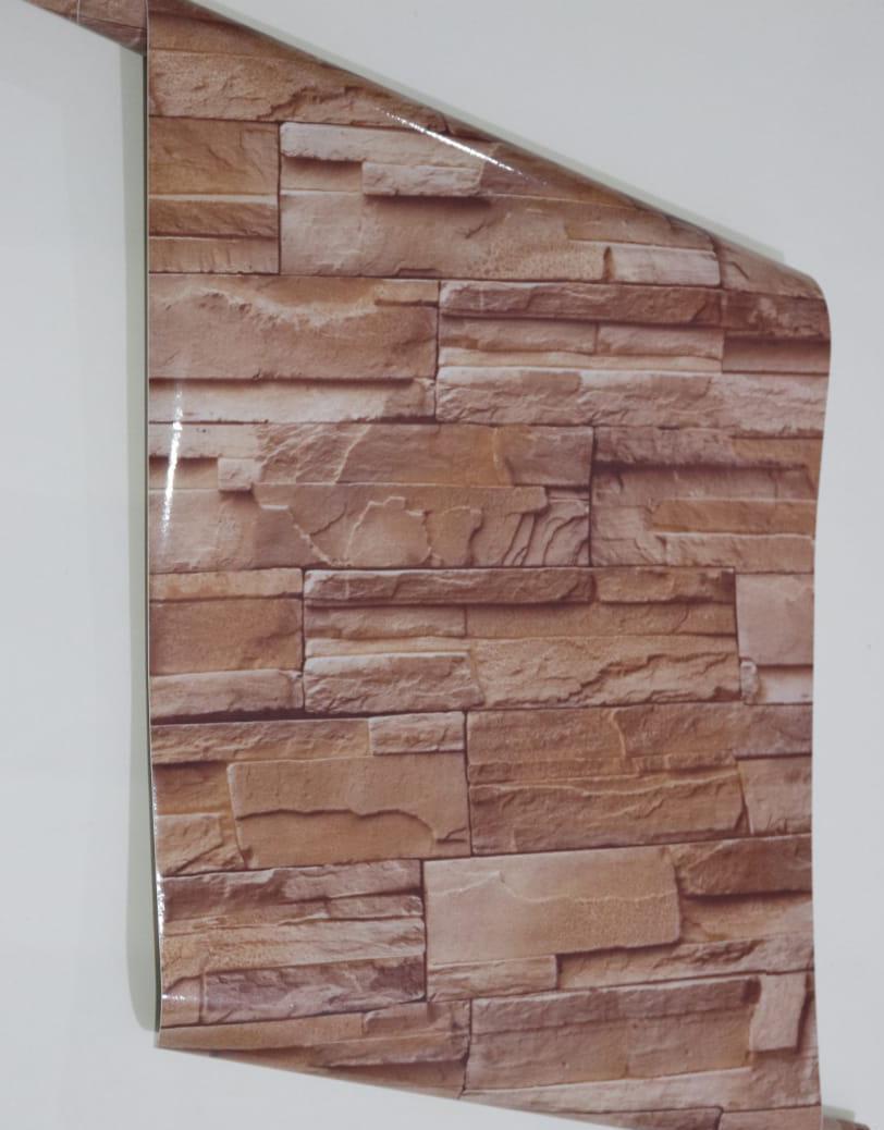 0619421241     papier peint adhesif brique 5M*45CM sh