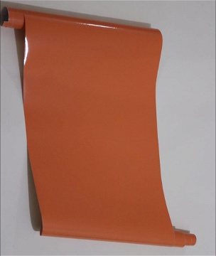 0619421241      adhesif couleur  orange unie 5metr sur 45cm
