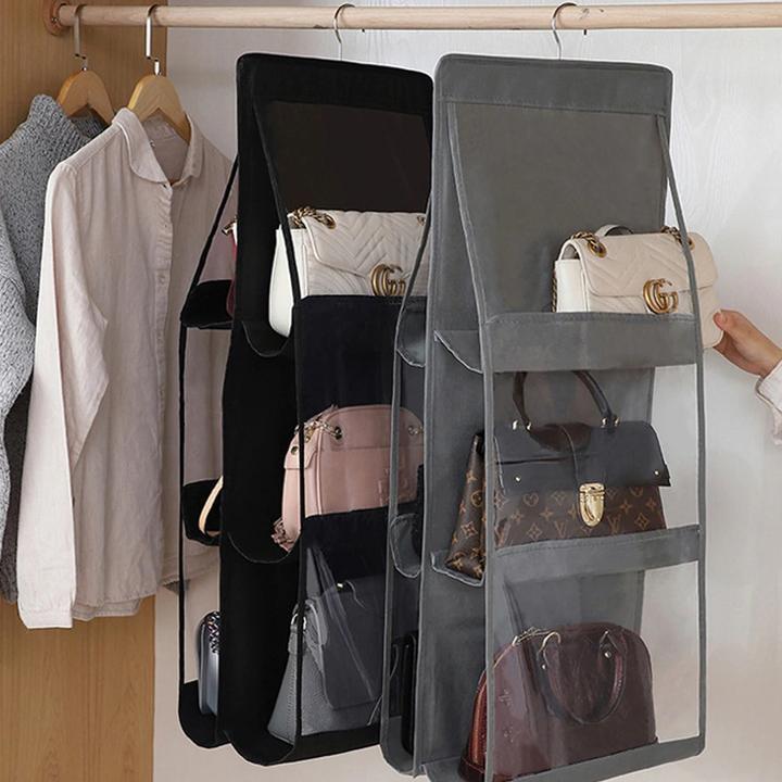 حاملة الحقائب للترتيب و التخزين بكل سهولة