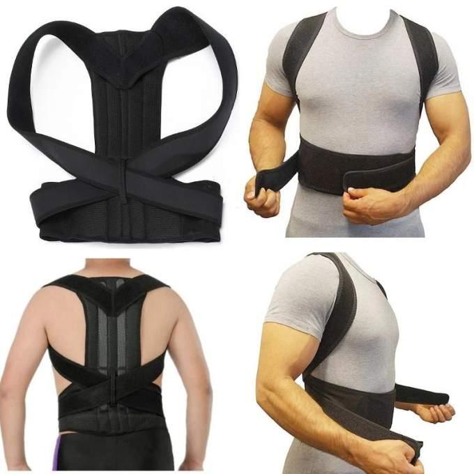 حزام الظهر الطبي لعلاج انحناء الظهر والعمود الفقري