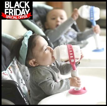 حامل زجاجات الرضاعة للأطفال الصغار و والرضع