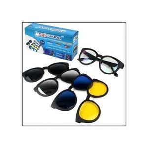 Magic Vision نظارات ماجيك فيجن 5 في 1 - للشمس والليل والقيادة