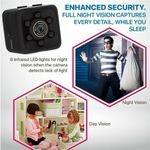 شرطي كاميرا الأمن كاميرا فيديو كشف الحركة-(With 8GB CarD).