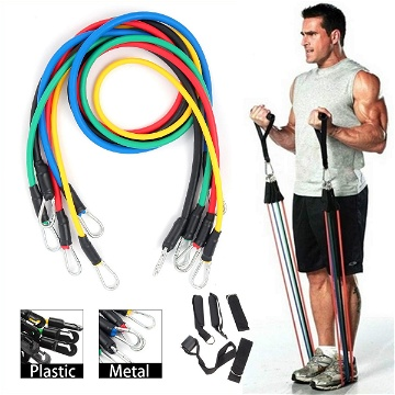 Workout GYM Resistance Bands (5 bands)