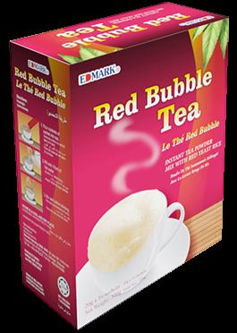 شاي الفقاعات الحمراء