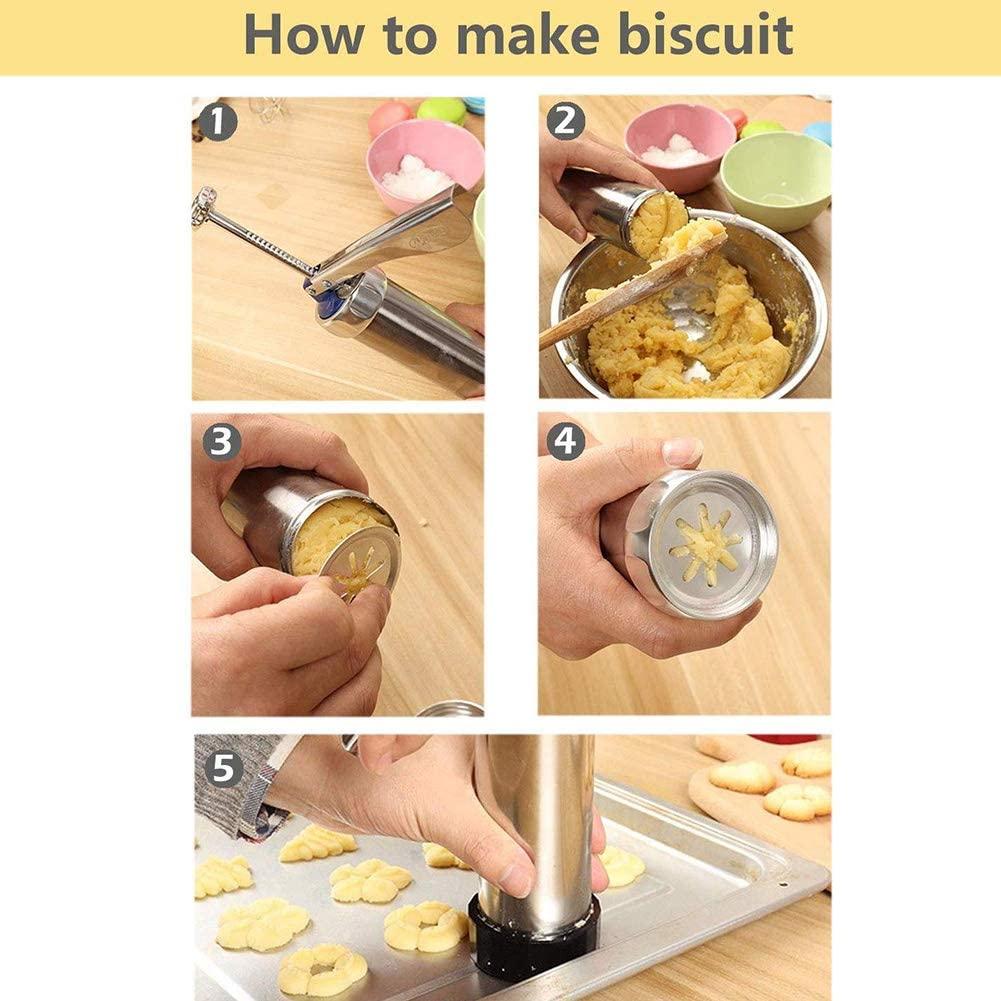presse à biscuits en acier inoxydable