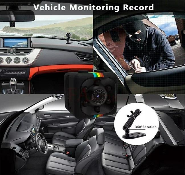 Mini Camera SQ11 Detection de Mouvement HD 1080P ميني كاميرا  للرؤية الليلية  وكشف الحركة