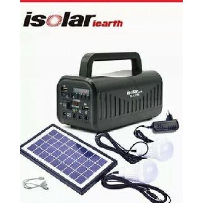Isolar leatrth  يعمل بالطاقة الشمسية و الكهرباء