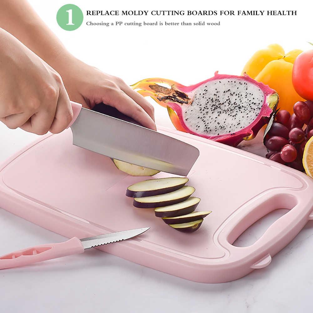 Planche à découper de cuisine 9 en 1 Anti-débordement, panier de Drainage pliable, multifonction, ensemble de planches de sécurité