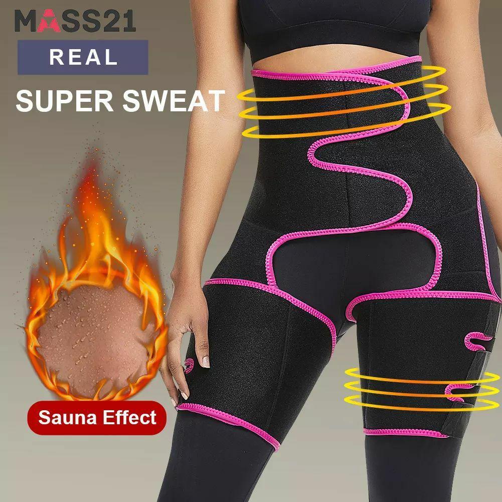 مشد حراري لحرق الدهون  وشد ترهلات البطن و الفخد