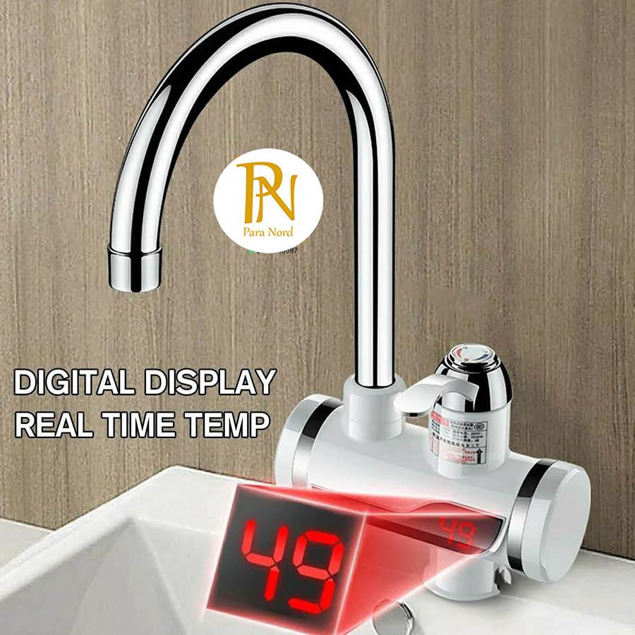 Robinet électrique de chauffe-eau pour la salle de bain Chauffage instantané à eau chaude 220V Avec indicateur de lumière