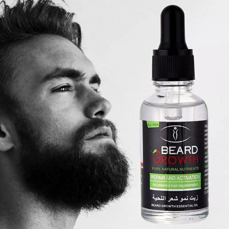 Huile  de Barbe BEARD GROWTH زيت نمو شعر اللحية