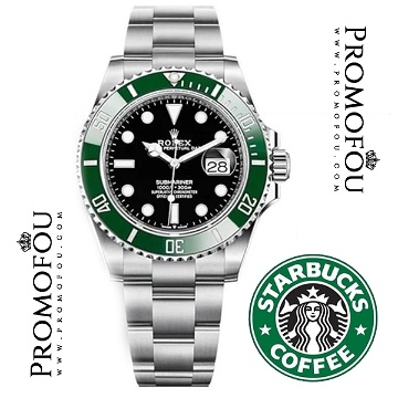 MONTRE RLX Submariner «Starbucks» 2020
