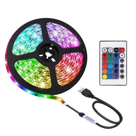 Ruban LED 5M Avec Télécommande