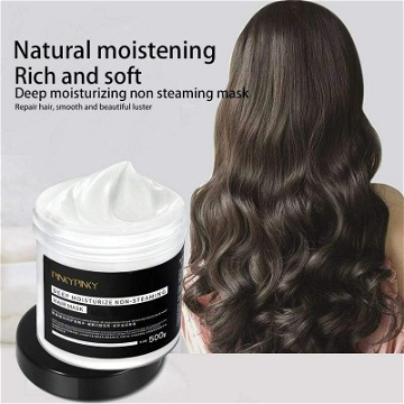 Masque hydratant profond Réparer les cheveux, lustrer et lisser  كريم علاج الشعر من العمق وتنعيم وتلميع