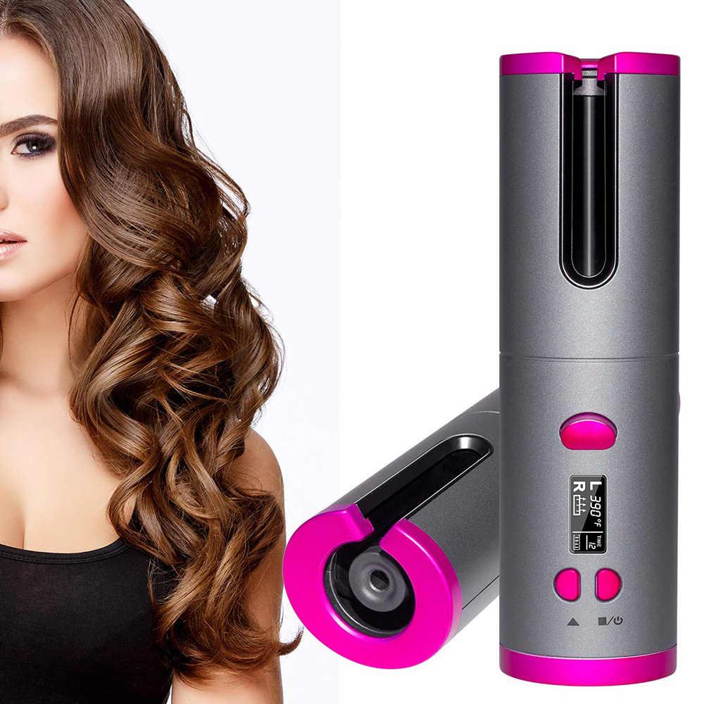 جهاز تجعيد الشعر اللاسلكي USB
