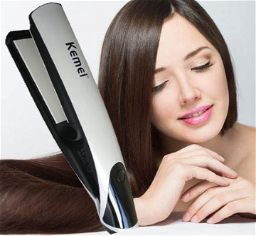 Kemei Professional Iron Hair Straightener (KM-1704)
