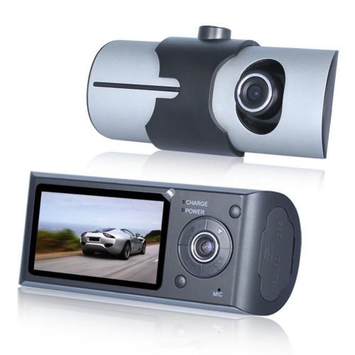 Double caméra DVR avant montée sur véhicule