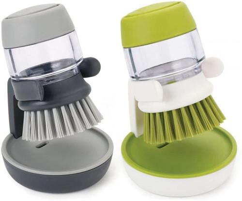 Brosse de nettoyage pour lave-vaisselle en plastique pour ustensiles de cuisine
