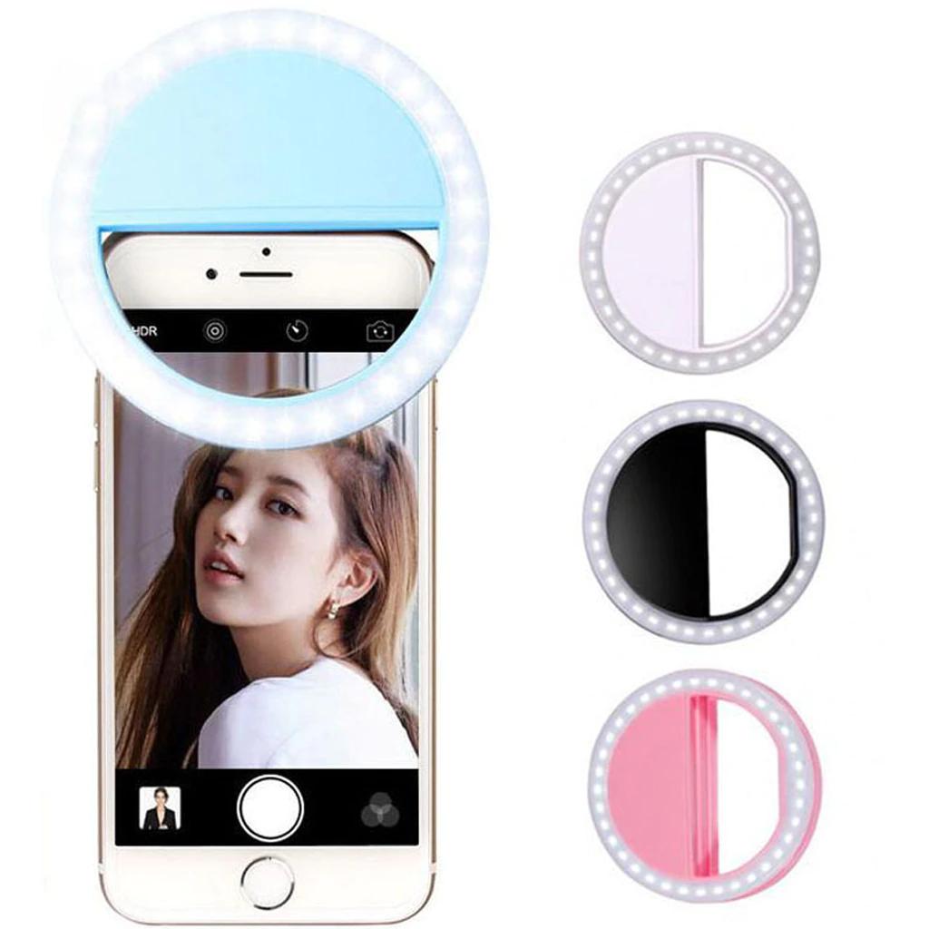 Selfie light ring for mobile