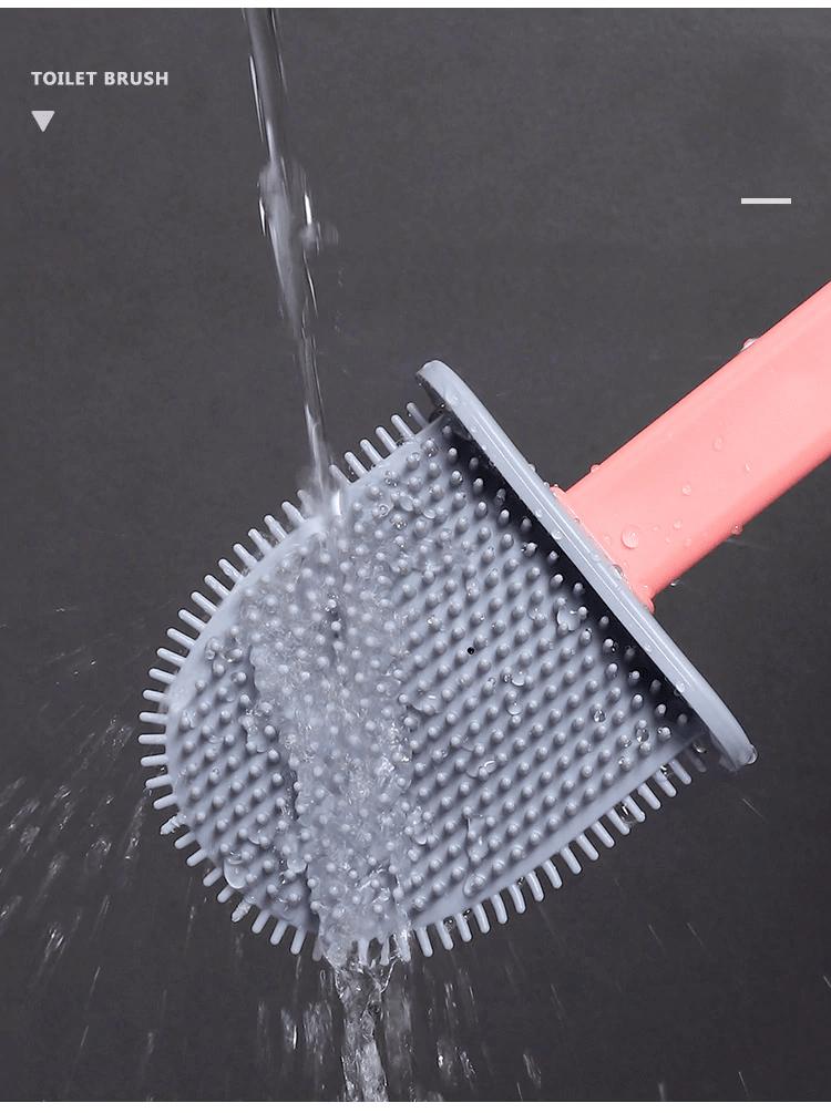 brosses de toilette en Silicone
