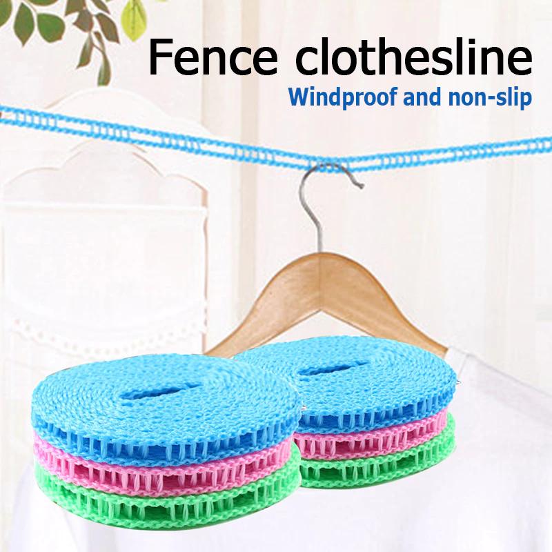 Corde à linge suspendue en tissu