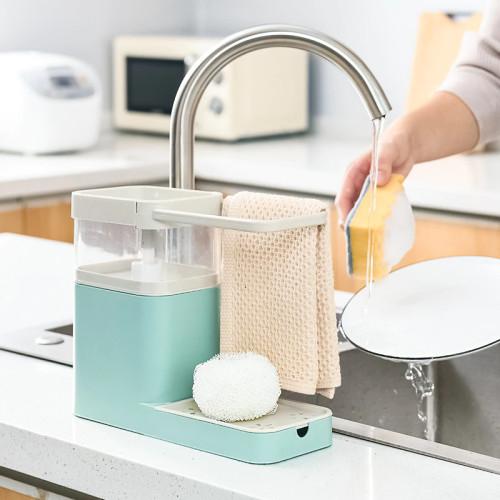Distributeur de savon en plastique