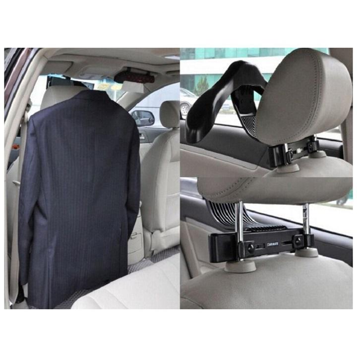 Cintre porte-manteau veste-chemise-costume en métal pour siège de voiture